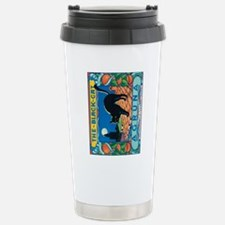 IPad The Black Cat Stainless Steel Travel Mug