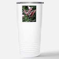 Roseate Spoonbills Mati Stainless Steel Travel Mug