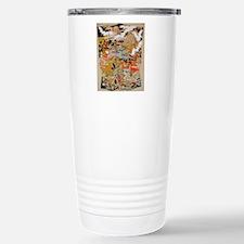 LUXURIOUS ANTIQUE JAPAN Travel Mug