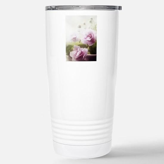 Violet ~Faithfully~ Stainless Steel Travel Mug