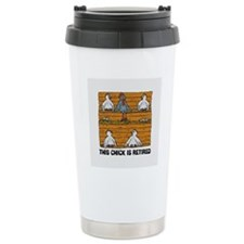 Retired Chick Travel Mug