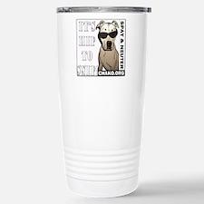 Hip to Snip square Travel Mug