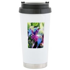 Colorful Abstract Butte Travel Mug