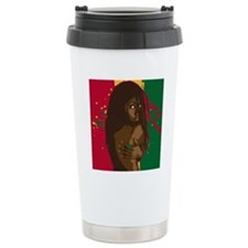 Rasta Girl Travel Mug