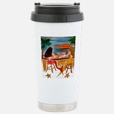 Martini Mermaids Travel Mug