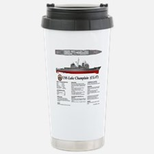 USS Lake Champlain (CG- Travel Mug
