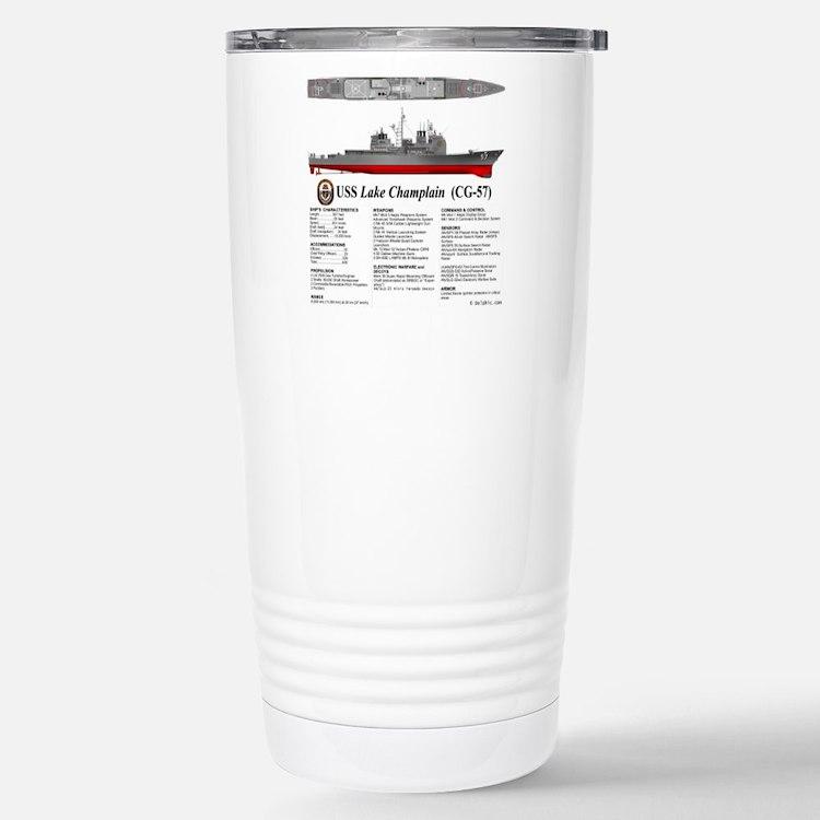 USS Lake Champlain (CG- Travel Mug