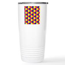 Uniform tiling pattern Travel Mug