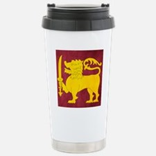 Sri Lanka Lion Cricket Travel Mug