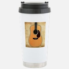 Acoustic Guitar (square Stainless Steel Travel Mug