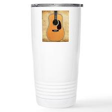 Acoustic Guitar (square Travel Mug