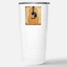 Acoustic Guitar worn (s Travel Mug