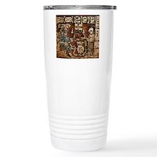 MAYAN COCOA CEREMONY Travel Coffee Mug