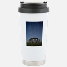 Star trails over Stoneh Stainless Steel Travel Mug