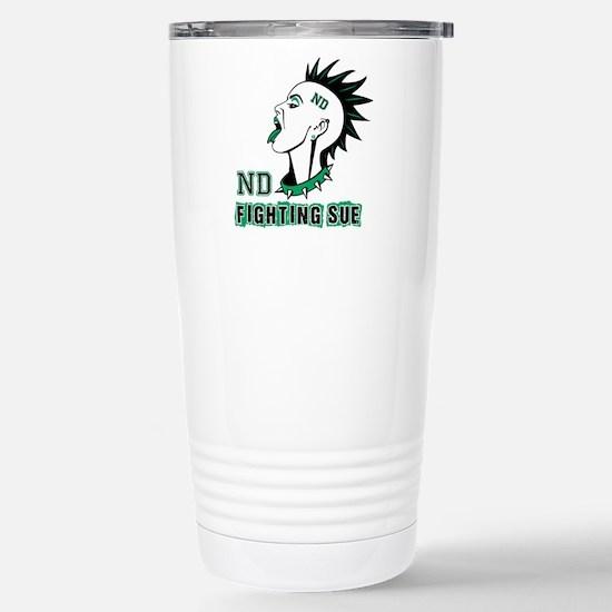 Fighting Sue Stainless Steel Travel Mug