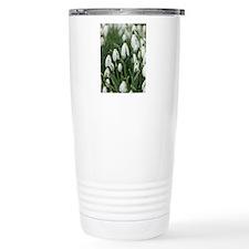 Snowdrop (Galanthus niv Travel Mug