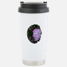 Rotavirus particle, art Thermos Mug