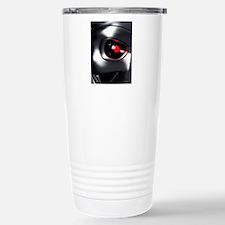 Robotic eye, artwork Travel Mug