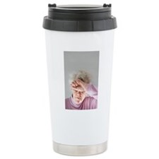 Raised temperature Travel Coffee Mug
