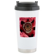 Poppy (Papaver sp.) Travel Mug