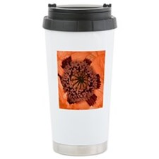 Poppy (Papaver sp.) Travel Coffee Mug
