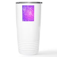 Particle tracks on gala Travel Mug