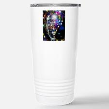 Particle tracks and hea Travel Mug