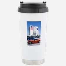 NASA vehicle assembly b Stainless Steel Travel Mug