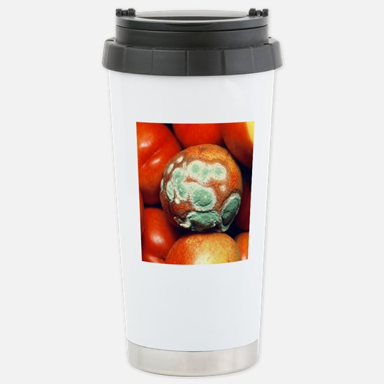 Nectarine covered in fu Stainless Steel Travel Mug