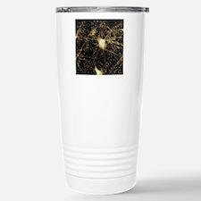 Motor neurons, light mi Stainless Steel Travel Mug