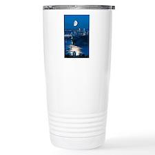Moon over Vancouver Travel Mug