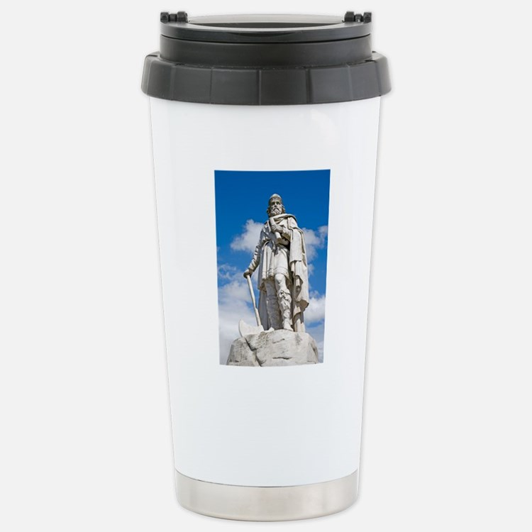 King Alfred the Great o Stainless Steel Travel Mug