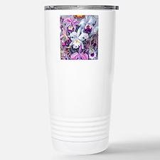 19th C Vintage Orchid P Travel Mug