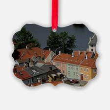 Trondheim. Typical Houses seen fr Ornament