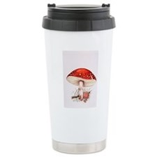 Fly agaric mushrooms Travel Mug