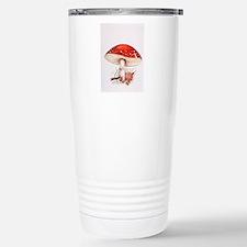 Fly agaric mushrooms Travel Mug