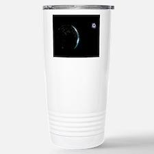 Earth and solar eclipse Travel Mug