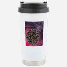 Dengue virus particle Thermos Mug