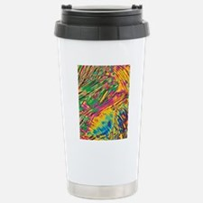 Crystals of enzyme tryp Stainless Steel Travel Mug