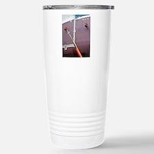 Crude oil tanker being  Stainless Steel Travel Mug