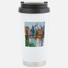 Brooklyn Bridge Bathroo Travel Mug