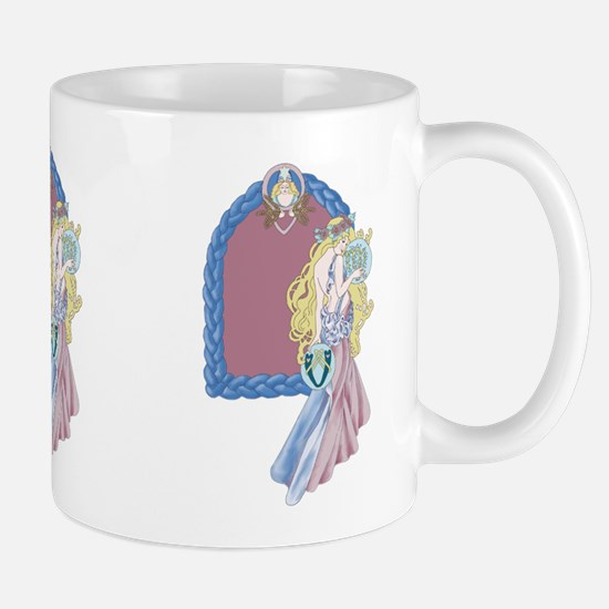 celtic virgo Mugs