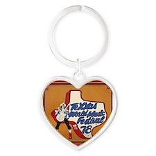 Texxas Jam 78 SQ Heart Keychain