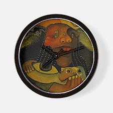 Cool Sienna Wall Clock