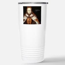 Elizabeth I Coronation Stainless Steel Travel Mug