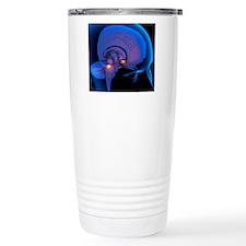 Amygdala in the brain,  Travel Mug