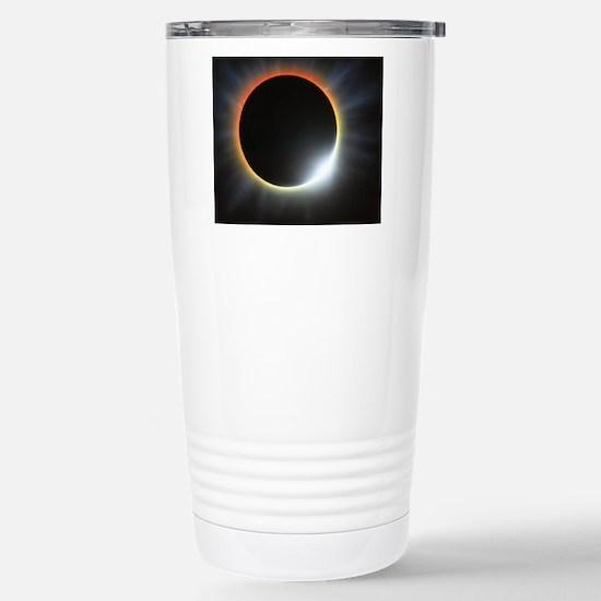 Annular solar eclipse,  Stainless Steel Travel Mug