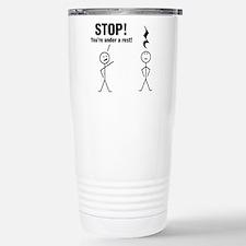 Stop! Travel Mug