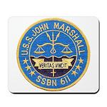 USS JOHN MARSHALL Mousepad
