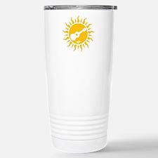 uke are my sunshine Stainless Steel Travel Mug
